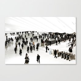 Walking. Canvas Print