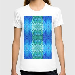210 - abstract pattern T-shirt