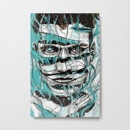 The Unthreading 1 Metal Print