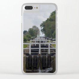 Looking up Caen Hill Clear iPhone Case