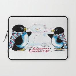 Penguin Greetings Laptop Sleeve