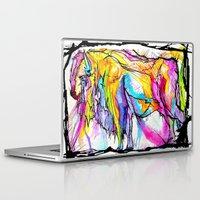 buffalo Laptop & iPad Skins featuring Buffalo by Time To Fight Studio