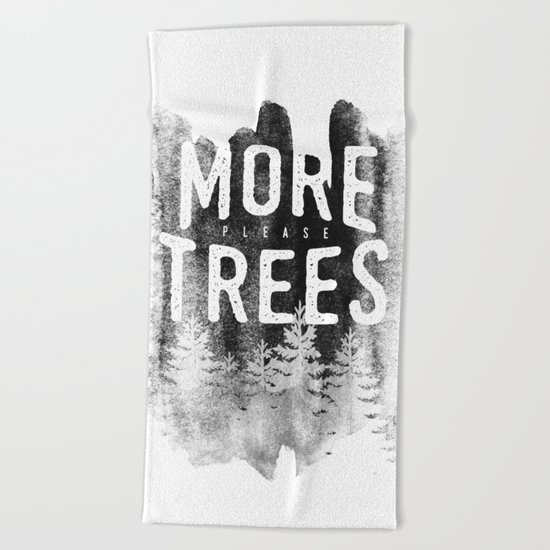 More trees Beach Towel