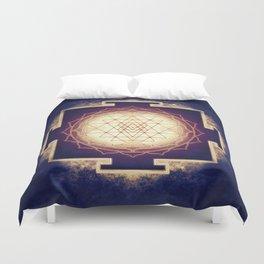 Sri Yantra IX Duvet Cover