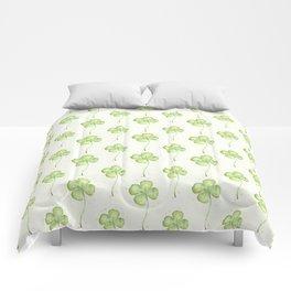 Four Leaf Clover Pattern Comforters