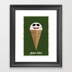 Joker Mint Framed Art Print
