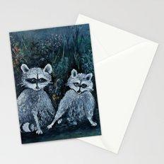 Rambling Raccoons Midnight Masquerade Stationery Cards