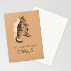 Kitten Mittens Stationery Cards