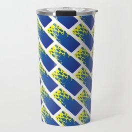 Water Tiles Travel Mug