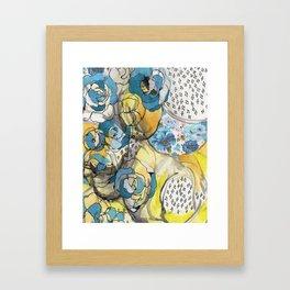 the blues...remix Framed Art Print