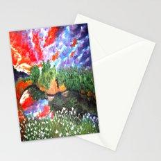 Rainbow Skies Stationery Cards