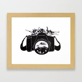 Capture Everything Framed Art Print