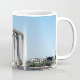 The temples of Athens Coffee Mug