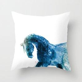 Horse (Meadow 2) Throw Pillow