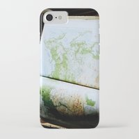 vintage map iPhone & iPod Cases featuring Vintage Map by Katie Yang