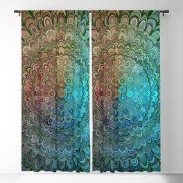 Cold Metal Flower Mandala Blackout Curtain