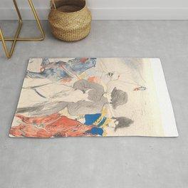 """Henri de Toulouse-Lautrec """"Napoleon"""" Rug"""