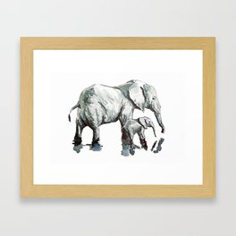 Live For Someone Else - Print Framed Art Print