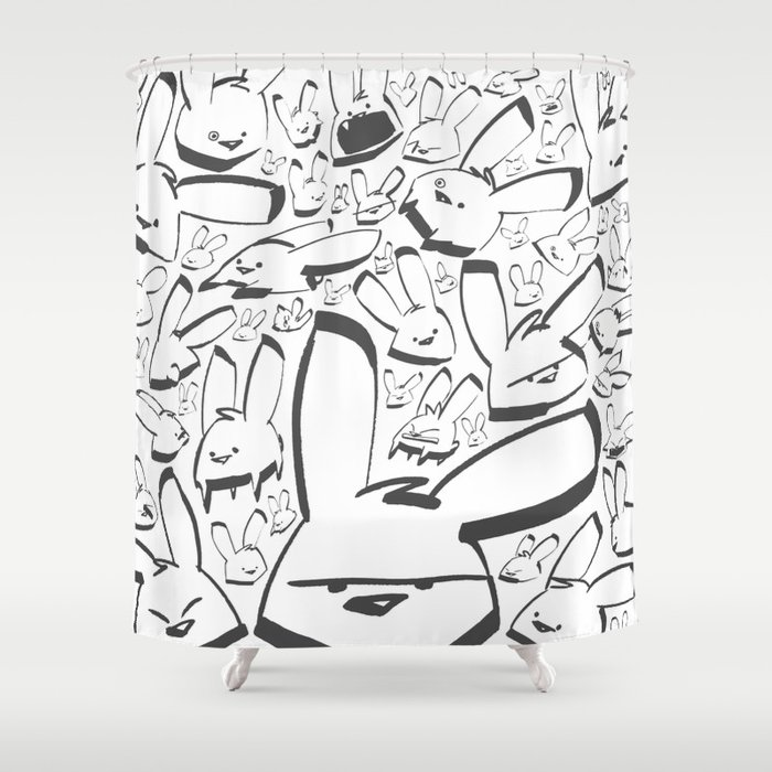 POLO - Montage Shower Curtain