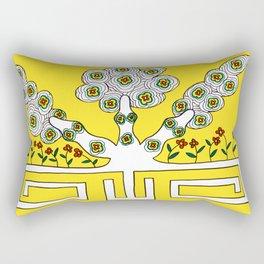 Rooted women Rectangular Pillow