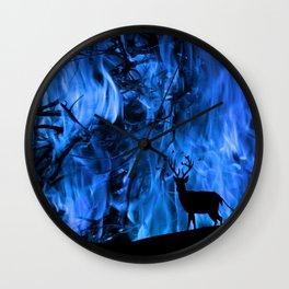 deer's tear Wall Clock