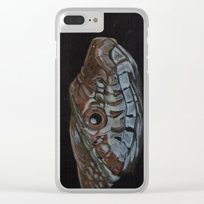Corn snake Clear iPhone Case