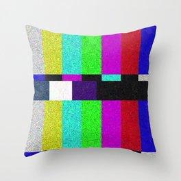 TV SCRN Throw Pillow
