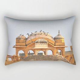 Pink City, Jaipur, India Rectangular Pillow