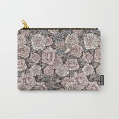 Flowers & Swallows Carry-All Pouch