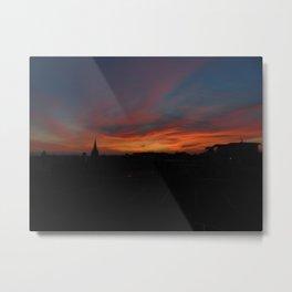 Illusory British Sunset (Part 2) Metal Print
