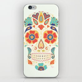 Day of the Dead Sugar Skull Candy iPhone Skin