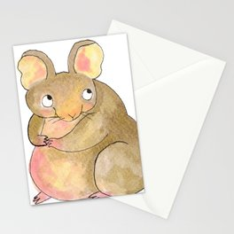 Gustav The Mouse (1/3) Stationery Cards