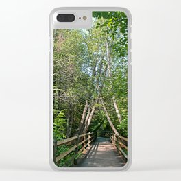 Two Lost Souls Collide Clear iPhone Case
