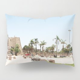 Temple of Luxor, no. 24 Pillow Sham