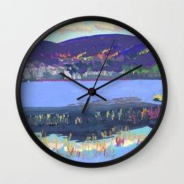 Haddock Pond Wall Clock