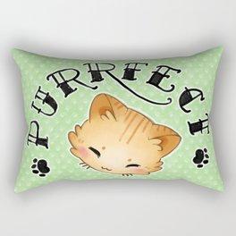 Purrfect Cat Tattoo Flash-style Rectangular Pillow