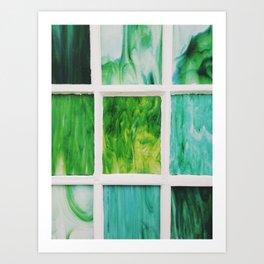Color Windows No. 2 Art Print