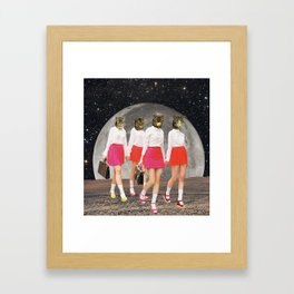 Kitty Gang Framed Art Print