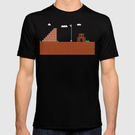 home at last! Original Mario Brothers Castle T-shirt