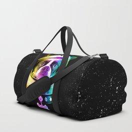 Space Dog Duffle Bag