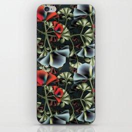 flores misteriosas iPhone Skin