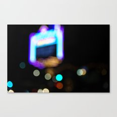 Lights by Night Canvas Print