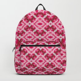 Padded Icy Pink Diamonds Backpack