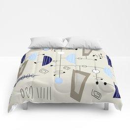 Mid-Century Modern Atomic Era Comforters