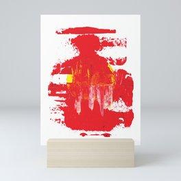 Red Smog Mini Art Print