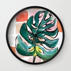 Golden Girl Wall Clock