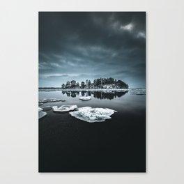 Only pieces left Canvas Print