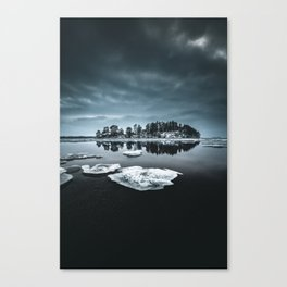 Only pieces left Canvas Print