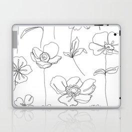 Botanical illustration drawing - Botanicals White Laptop & iPad Skin