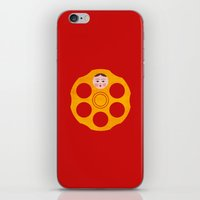 russian iPhone & iPod Skins featuring Russian Roulette by John Tibbott